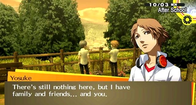 Persona 4 dating yosuke ueno