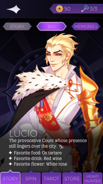 The Arcana: Inclusive Fantasy Dating Sim With a Side of